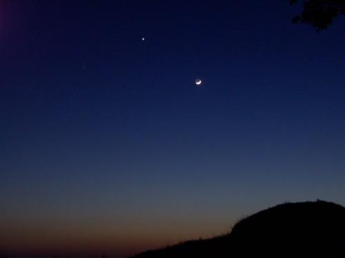 aldébaran vénus lune