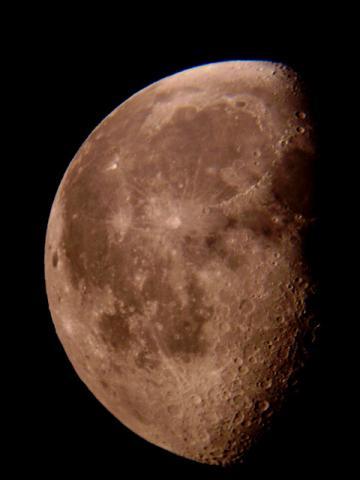 lune décroissante