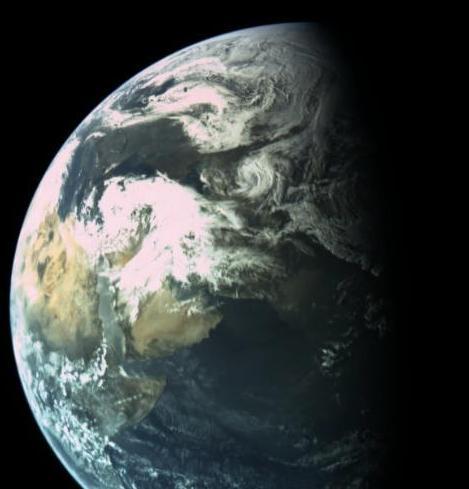 La terre vue par beresheet