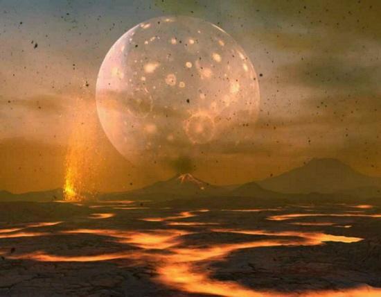 Lune terre