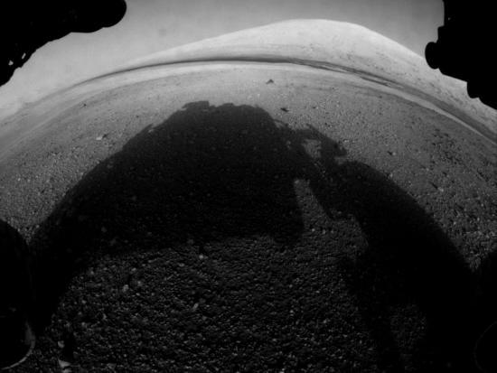 Premiere image de curiosity